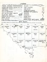 Index Map, Chippewa County 1955